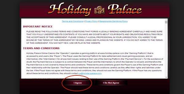 กติกาการเล่น holiday palace