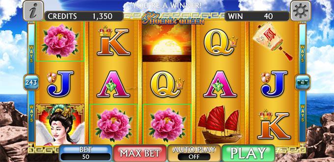 phoenix queen slot free spin